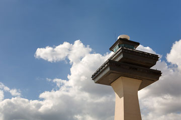 washington dulles airport control tower
